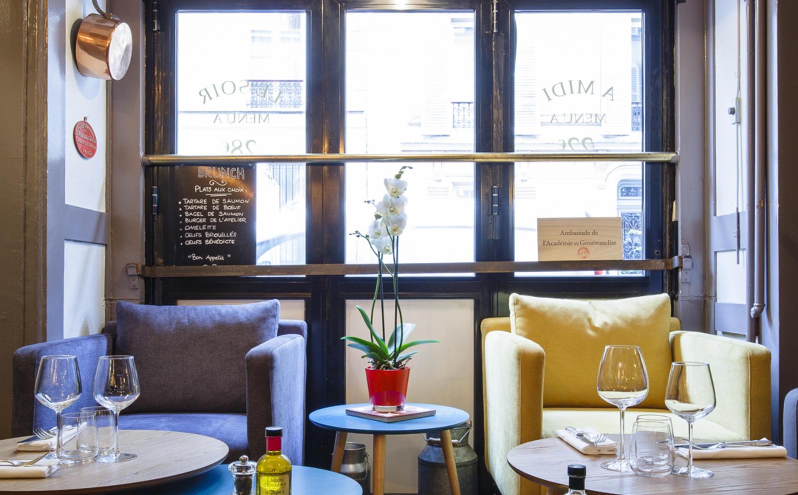L Atelier Du Marché Restaurant à Paris 17ème